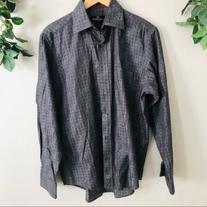Bugatchi Men's Medium Long Sleeve Button Down
